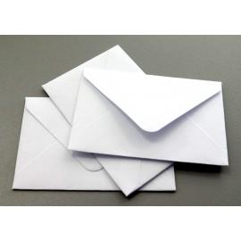 Koperta wizytówkowa 60x90 biała 25szt