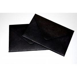 Koperta wizytówkowa 60x90 czarna 25szt