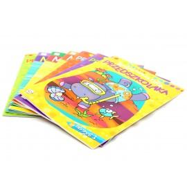 Kolorowanki AKSJOMAT dla przedszkolaka