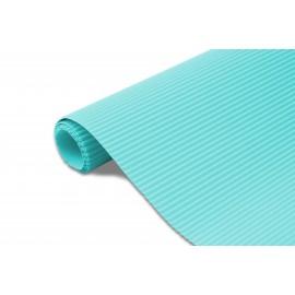 Karton falisty 50x70 błękit lazurowy