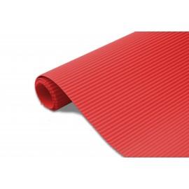 Karton falisty 50x70 czerwony metalik