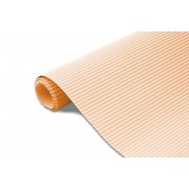 Karton falisty 50x70 łososiowy brokatowy