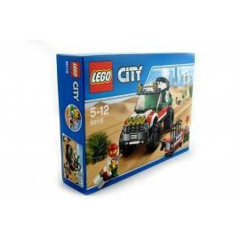 Klocki LEGO terenówka