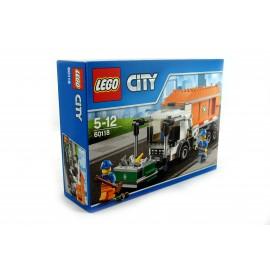 Klocki LEGO śmieciarka