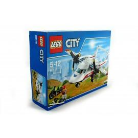 Klocki LEGO samolot ratowniczy