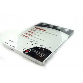 Etykieta samop. A4/100ark DALPO 38x21,5