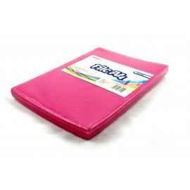 Filc A4/10szt różowy