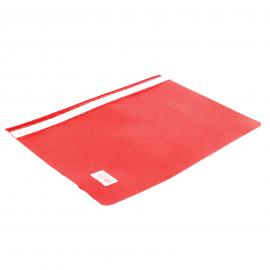 Skoroszyt A4 BIURFOL bez perforacji czerwony