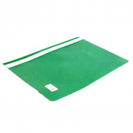 Skoroszyt A4 BIURFOL bez perforacji zielony