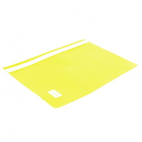 Skoroszyt A4 BIURFOL bez perforacji żółty