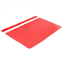 Skoroszyt A4 BIURFOL z perforacją czerwony