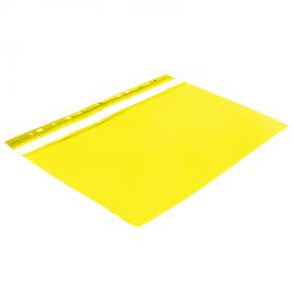 Skoroszyt A4 BIURFOL z perforacją żółty