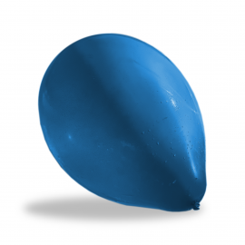 Balony 100szt. niebieskie
