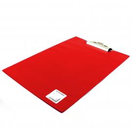 Deska z klipem A4 BIURFOL czerwona