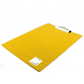 Deska z klipem A4 BIURFOL żółta