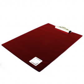 Deska z klipem A4 BIURFOL bordowa