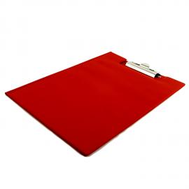 Deska z klipem zamykana A4 BIURFOL czerwona