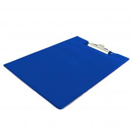 Deska z klipem zamykana A4 BIURFOL niebieska