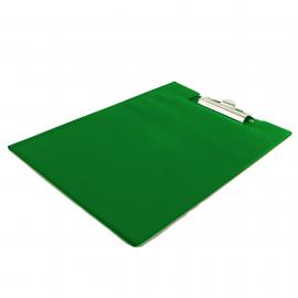 Deska z klipem zamykana A4 BIURFOL zielona jasna