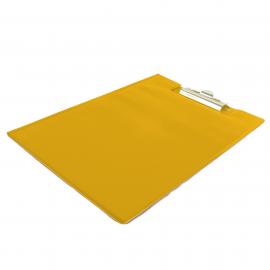 Deska z klipem zamykana A4 BIURFOL żółta