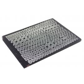 Litery samoprzylepne 10mm czarne