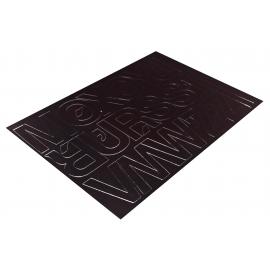 Litery samoprzylepne 50mm czarne