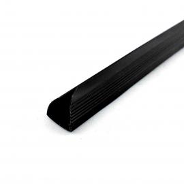 Grzbiet wsuwany A4 15mm czarny