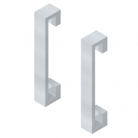 Komplet uchwytów EC01