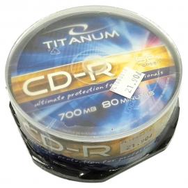 Płyta CD-R TITANUM cake 25szt