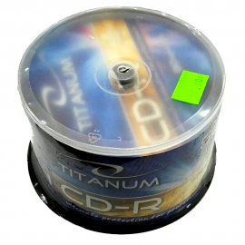 Płyta CD-R TITANUM cake 50szt